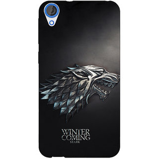 Jugaaduu Game Of Thrones GOT House Stark  Back Cover Case For HTC Desire 820Q - J290134