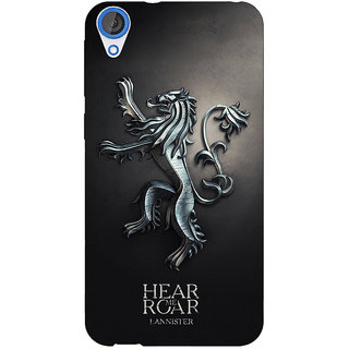 Jugaaduu Game Of Thrones GOT House Lannister  Back Cover Case For HTC Desire 820Q - J290165