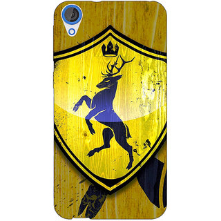 Jugaaduu Game Of Thrones GOT House Baratheon  Back Cover Case For HTC Desire 820Q - J290167