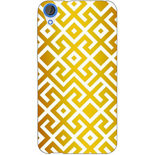 Jugaaduu Geometric Pattern Back Cover Case For HTC Desire 820 - J281418