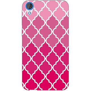 Jugaaduu Morocco Pattern Back Cover Case For HTC Desire 820 - J281439