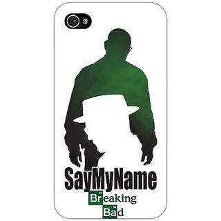 Jugaaduu Breaking Bad Heisenberg Back Cover Case For Apple iPhone 4 - J10403