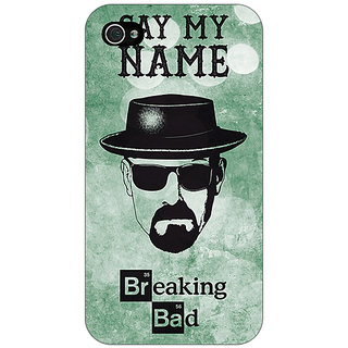Jugaaduu Breaking Bad Heisenberg Back Cover Case For Apple iPhone 4 - J10412