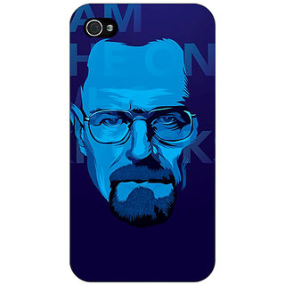 Jugaaduu Breaking Bad Heisenberg Back Cover Case For Apple iPhone 4 - J10431