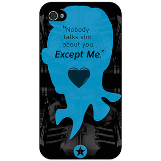 Jugaaduu Entourage E Back Cover Case For Apple iPhone 4 - J10437