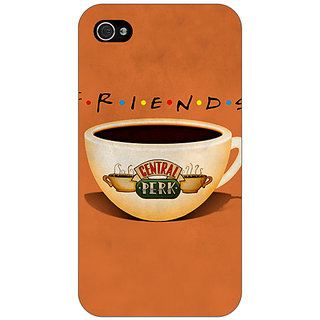 Jugaaduu FRIENDS Back Cover Case For Apple iPhone 4 - J10444