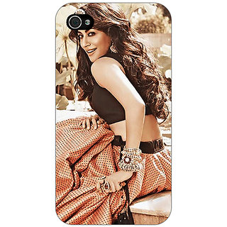 Jugaaduu Bollywood Superstar Chitrangada Singh Back Cover Case For Apple iPhone 4 - J11035