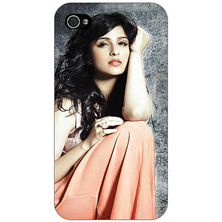 Jugaaduu Bollywood Superstar Parineeti Chopra Back Cover Case For Apple iPhone 4 - J11041