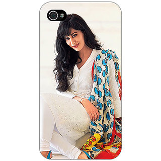 Jugaaduu Bollywood Superstar Chitrangada Singh Back Cover Case For Apple iPhone 4 - J11042