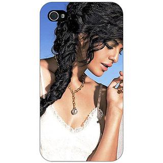 Jugaaduu Bollywood Superstar Jacqueline Fernandez Back Cover Case For Apple iPhone 4 - J11052