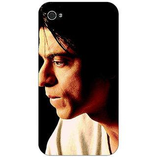 Jugaaduu Bollywood Superstar Shahrukh Khan Back Cover Case For Apple iPhone 4 - J10917