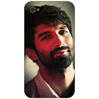 Jugaaduu Bollywood Superstar Aditya Roy Kapoor Back Cover Case For Apple iPhone 4 - J10925