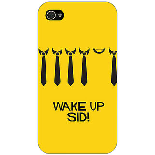 Jugaaduu Bollywood Superstar Wake Up Sid Back Cover Case For Apple iPhone 4 - J11096