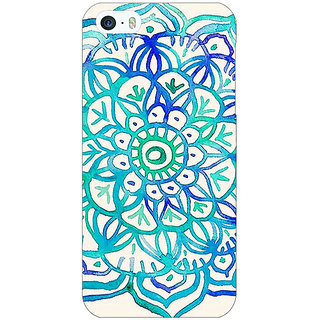 Jugaaduu Panda Pattern Back Cover Case For Apple iPhone 5 - J20205