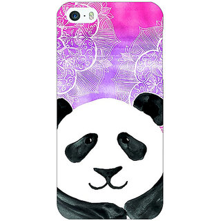 Jugaaduu Girly Floral Pattern Back Cover Case For Apple iPhone 5 - J20207