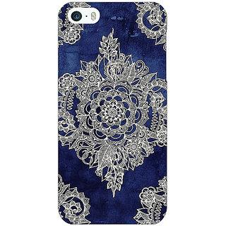 Jugaaduu Vintage Luxury Pattern Back Cover Case For Apple iPhone 5 - J20227