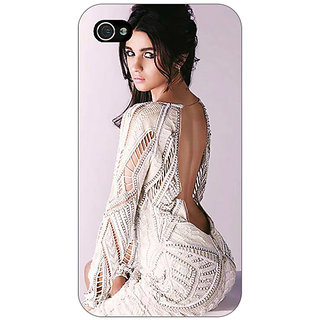 Jugaaduu Bollywood Superstar Alia Bhatt Back Cover Case For Apple iPhone 4 - J10972