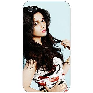 Jugaaduu Bollywood Superstar Alia Bhatt Back Cover Case For Apple iPhone 4 - J11012