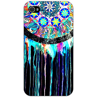 Jugaaduu Abstract Dream Catcher Pattern Back Cover Case For Apple iPhone 4 - J11509