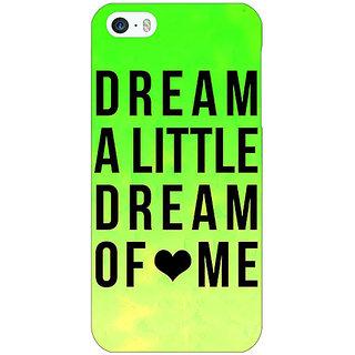 Jugaaduu Dream Love Back Cover Case For Apple iPhone 5c - J30092