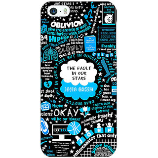 Jugaaduu TFIOS Fancy  Back Cover Case For Apple iPhone 5c - J30109