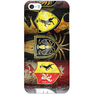 Jugaaduu Game Of Thrones GOT  Back Cover Case For Apple iPhone 5c - J30117