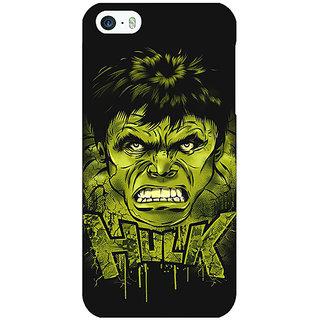 Jugaaduu Superheroes Hulk Back Cover Case For Apple iPhone 5 - J20324