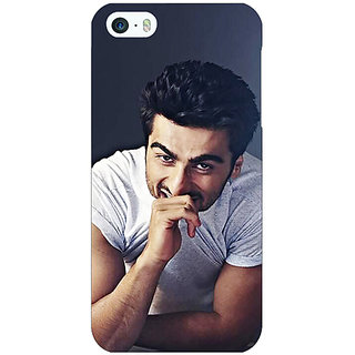 Jugaaduu Bollywood Superstar Arjun Kapoor Back Cover Case For Apple iPhone 5 - J20901