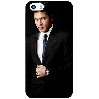 Jugaaduu Bollywood Superstar Shahrukh Khan Back Cover Case For Apple iPhone 5 - J20926