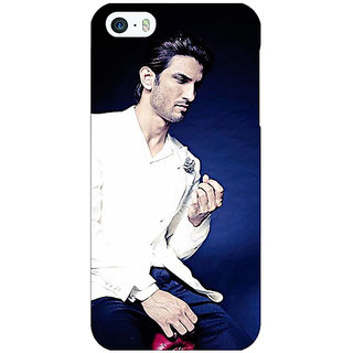 Jugaaduu Bollywood Superstar Sushant Singh Rajput Back Cover Case For Apple iPhone 5 - J20929