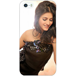 Jugaaduu Bollywood Superstar Shruti Hassan Back Cover Case For Apple iPhone 5 - J21011