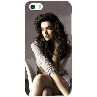 Jugaaduu Bollywood Superstar Deepika Padukone Back Cover Case For Apple iPhone 5 - J21038