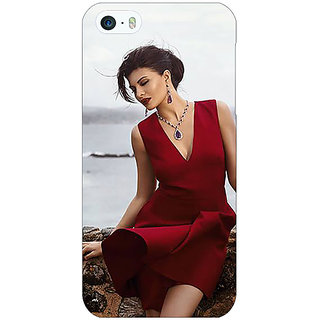 Jugaaduu Bollywood Superstar Jacqueline Fernandez Back Cover Case For Apple iPhone 5 - J21050