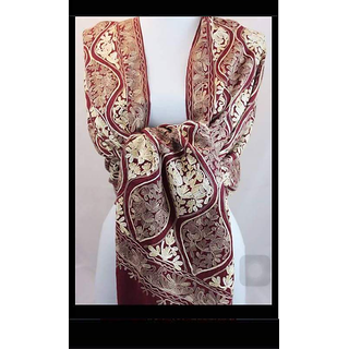 New Design Big Multi Floral Print Scarf For Womens And Girls