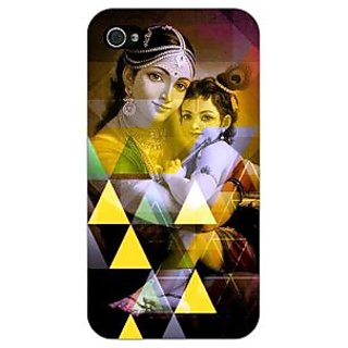 Jugaaduu Lord Krishna Back Cover Case For Apple iPhone 4 - J11281