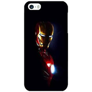 Jugaaduu Superheroes Ironman Back Cover Case For Apple iPhone 5 - J20026