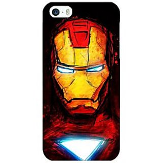 Jugaaduu Superheroes Ironman Back Cover Case For Apple iPhone 5 - J20030