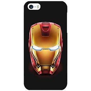 Jugaaduu Superheroes Ironman Back Cover Case For Apple iPhone 5 - J20043