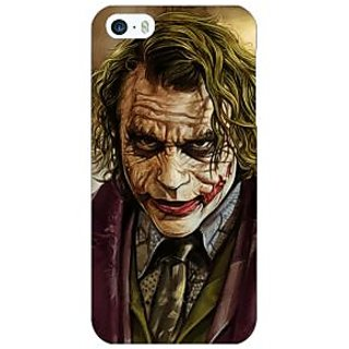 Jugaaduu Villain Joker Back Cover Case For Apple iPhone 5 - J20050