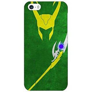 Jugaaduu Superheroes Loki Back Cover Case For Apple iPhone 5 - J20341