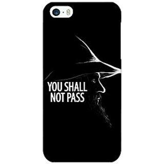 Jugaaduu LOTR Hobbit Gandalf Back Cover Case For Apple iPhone 5 - J20359