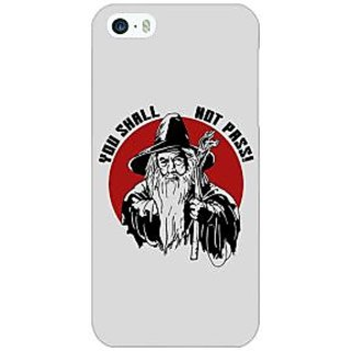 Jugaaduu LOTR Hobbit Gandalf Back Cover Case For Apple iPhone 5 - J20361