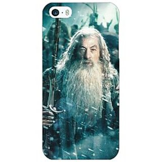 Jugaaduu LOTR Hobbit Gandalf Back Cover Case For Apple iPhone 5 - J20363