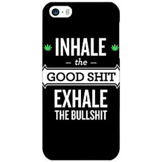 Jugaaduu Weed Quotes Back Cover Case For Apple iPhone 5 - J20500