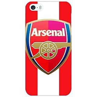 Jugaaduu Arsenal Back Cover Case For Apple iPhone 5 - J20509