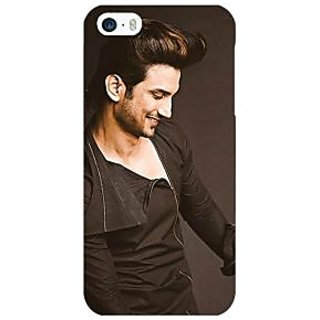 Jugaaduu Bollywood Superstar Sushant Singh Rajput Back Cover Case For Apple iPhone 5 - J20949