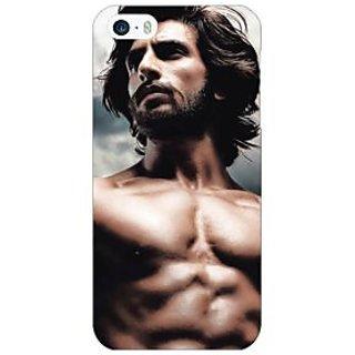 Jugaaduu Bollywood Superstar Ranveer Singh Back Cover Case For Apple iPhone 5 - J20950