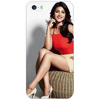 Jugaaduu Bollywood Superstar Shruti Hassan Back Cover Case For Apple iPhone 5 - J21067