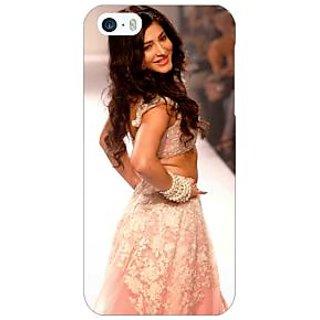 Jugaaduu Bollywood Superstar Shruti Hassan Back Cover Case For Apple iPhone 5 - J21072