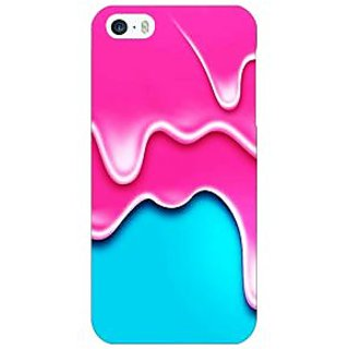 Jugaaduu Ice Cream Back Cover Case For Apple iPhone 5 - J21405